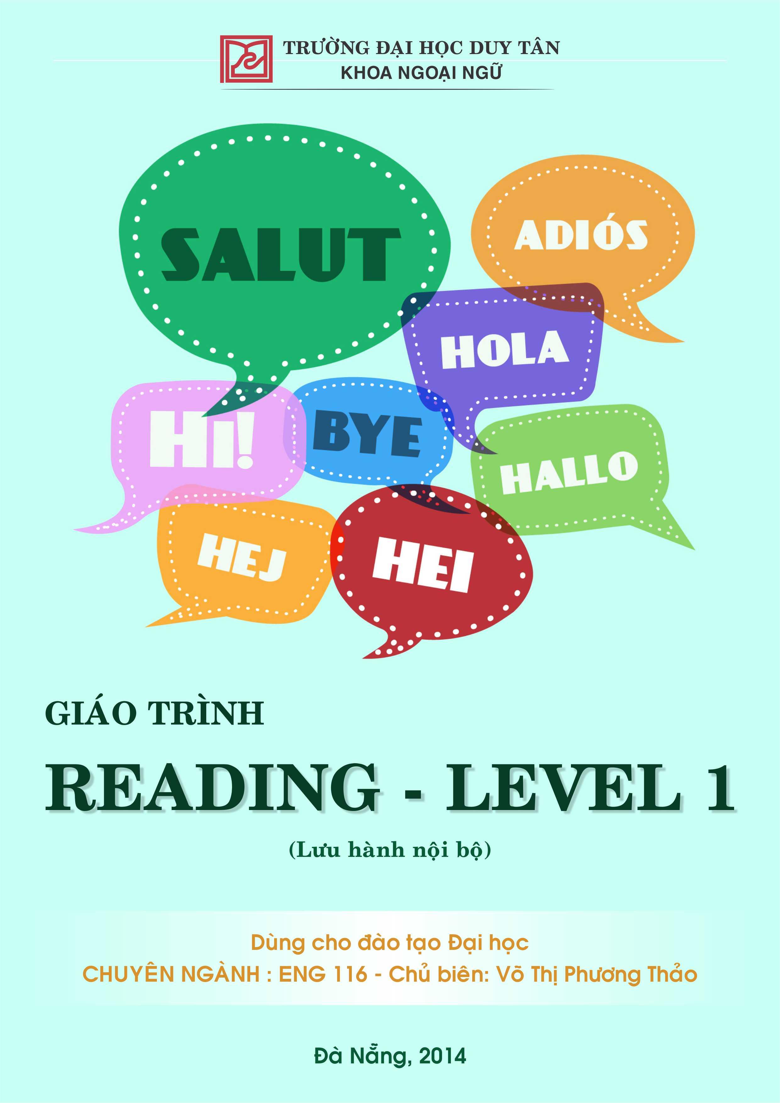 Reading - Level 1