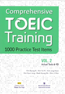 Comprehensive Toeic training: 1000 practice test items: Vol. 2: Actual test 6-10