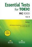 Essential test for toeic RC 1000: Vol. 1