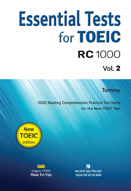 Essential test for toeic RC 1000: Vol. 2