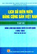 Lịch sử biên niên Đảng cộng sản Việt Nam