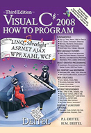 Visual C# 2008 how to program: 3rd edition