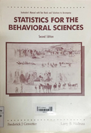Instructor's manual with test bank and solutions to accompany statistics for the behavioral sciences : a first course for students of psychology and education : 2nd ed.