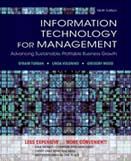 Information technology for management : advancing sustainable, profitable business growth : 9th ed.