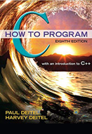 C how to program : 8th ed.