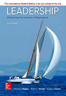 Leadership : Enhancing the lessons of experience : 9th ed.